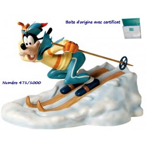 Disney WDCC Goofy Art of Skiing