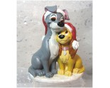 La Belle et le Clochard Superbe figurine Disney