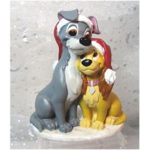 La Belle et le Clochard Superbe figurine Disney