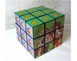 Tic et Tac Magic cube ou Rubik's cube.