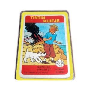 TRES RARE jeu de cartes TINTIN 1983