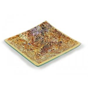 Assiette Décorative 12.7cm - Golden Horizon
