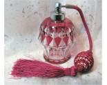 Vaporisateur à parfum en cristal Val Saint Lambert