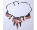 COLLIER CONTEMPORAIN NACRE ROSE SAUMONE