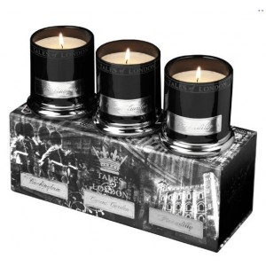 Bougies Parfumees -Coffret Buckingham Covent Garden Piccadilly 45 heures TOLV01