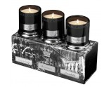 Bougies Parfumees -Coffret Knightsbridge Westminster Portobello 45 heures TOLV02
