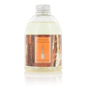 Recharge Parfum 200ml diffuseur bambou- Bois de santal et myrrhe WED26F
